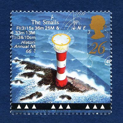 Small's Lighthouse Pembrokeshire on 1998 stamp - Unmounted Mint