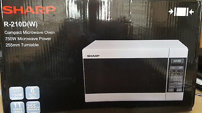 Sharp R210D 750W Compact Microwave Oven