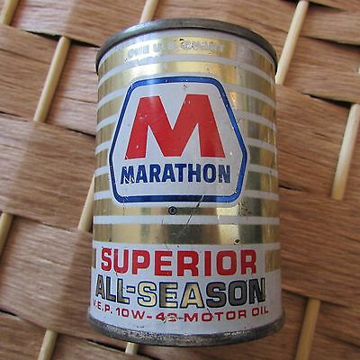 Marathon Superior All-Season 10- W40 Vintage Motor Oil Can Bank