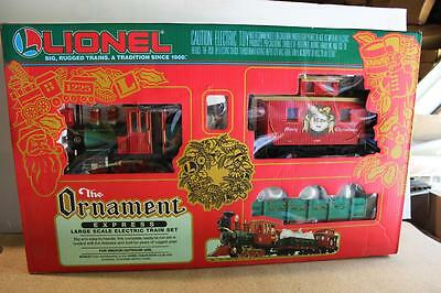 G Scale  Lionel 81017- 'the Ornament Express Set' - Brand New-