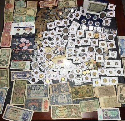Huge Lot 300+Coin/Currency~USA&World~Silver WL Half~ Buffalo~Indian~Proof~Token+