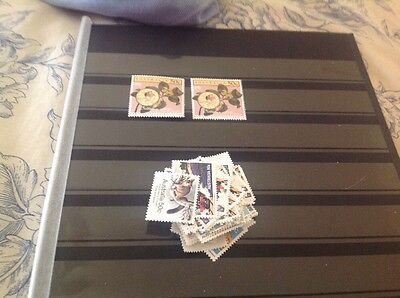 500 Australian MUH $1.00 (2 stamps) Postage Stamp - Full Gum Mint - Face $500