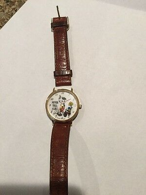 Disney Pinocchio Animated Growing Nose Never Tell a Lie Jiminy Cricket Watch HTF