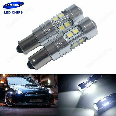 2 Ampoule T11 BA9S T4W SAMSUNG 10 SMD LED Voiture Veilleuse Lampe Tuning Blanc