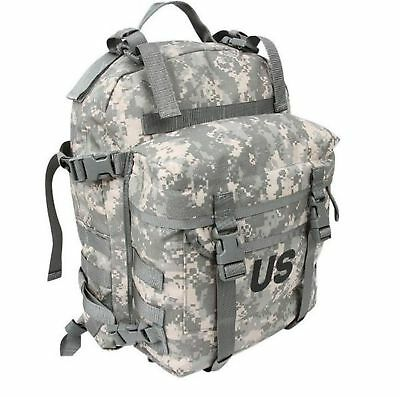 US Military MOLLE 3 day Back Pack ACU Pattern digital camo used excellent cond