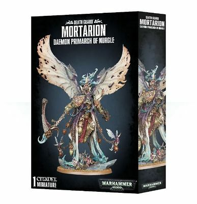 Warhammer 40,000 Mortarion Daemon Primarch of Nurgle