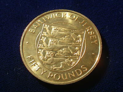 Jersey 1972 Gold (Unc) £50.00  ***RARE***
