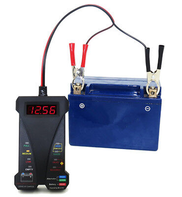 Car Battery Tester Digital Auto circuit multimeter 12V Charging Voltage