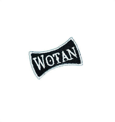 "Ecusson patch VALKNUT brodé airsoft paintball VIKING SOLDAT ODIN "" Wotan"