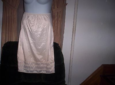 Loraine  Half Slip Size Medium /Tall   With Top side Panels 28 Inches Long