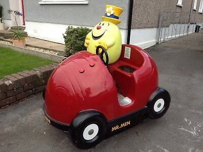 Mr Funny / Mr Men Coin Operated Children's Kiddy Ride