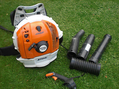 New Shape 2017 Stihl Magnum BR600 Back Pack Leaf Garden Blower br500 550 br430