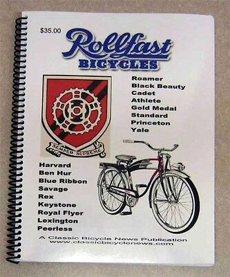 classic ROLLFAST Bicycle BOOK DP Harris HP Snyder for antique bikes