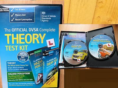 The Official DVSA Complete Theory Test Kit,Theory Hazard Perception,DVDs