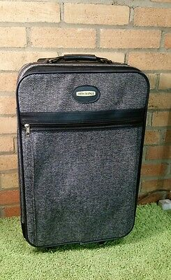 Fifth Avenue- Navy Blue Spinner Carry On
