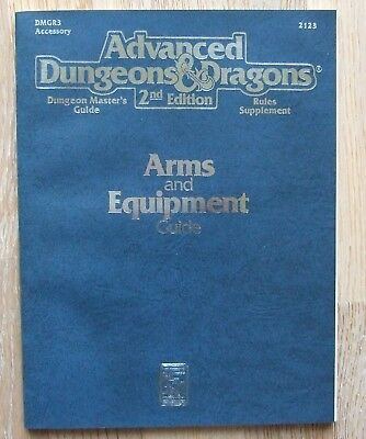 AD&D 2nd Edition Arms and Equipment Guide