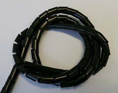 Spiral Tube Natural or Black, in Different Sizes