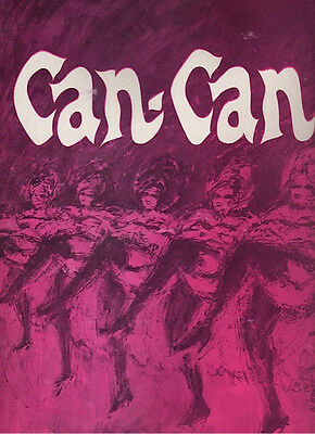 "Joey Heatherton ""Can-Can""  Souvenir Program 1968"