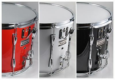 Marching Snare Drum, Tradition British double snare