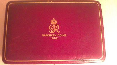 1937 Royal Mint - King George VI - 15 Coin Coronation Proof Set Silver