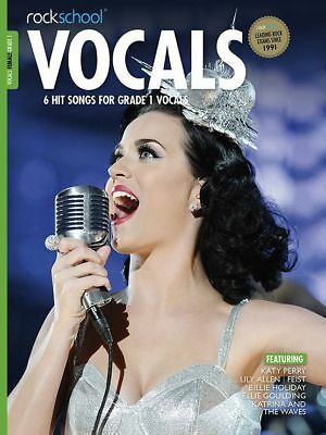 Rockschool Vocals Female Grade 1 Music Book with Audio Access Tests Exams Songs