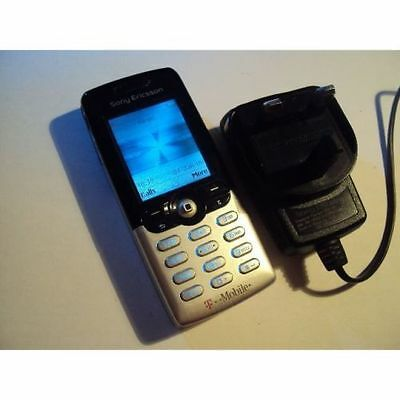 Easy Simple Retro Sony Ericsson T610 On T-Mobile/virgin +Charger