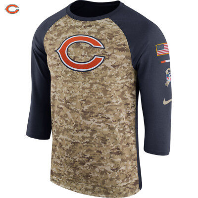 a7f7ff6501ed00 ... sweden nike nfl 2017 salute to service chicago bears mens t shirt  sideline legend nwt ff394