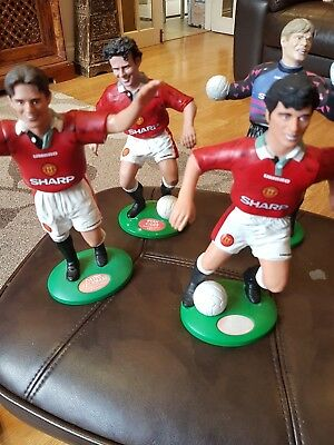 Collectable 1996  Vintage 4 Manchester United Vivid Imagination Figures