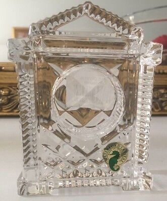 Waterford Crystal Clock (case only) timepiece. Made In Ireland.