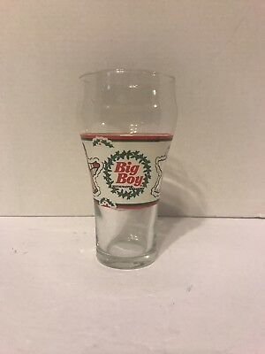 1 Big Boy Restaurants Holiday Christmas Glass