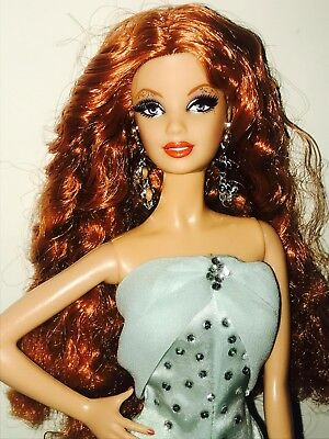 Barbie Doll Nude Model muse city shine red head  FLAWS