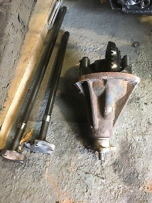 Landrover 24 Spline Diff and rear shafts