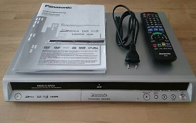 panasonic dmr e85h dvd recorder 80gb festplatte inkl. Black Bedroom Furniture Sets. Home Design Ideas