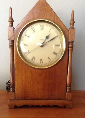 Vintage Steeple Clock by Trend, MI Electric 1970s Retro Shelf Clock LOVELY CLOCK