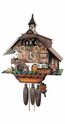 Herr 68-Rm Cuckoo Clock.. New! (Authentic German/black Forest)