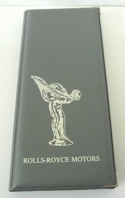 Rolls-Royce Motor Car Centenary 1885-1985 PICTURE CARD book FULL (2 sets)& MINT
