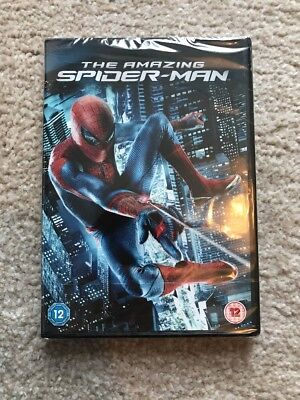 The Amazing Spider-Man DVD (2012) Free and Fast Postage