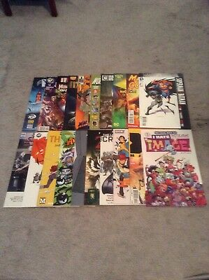 Huge Lot Of 40 Comic Books Fcbd And Others Image, Marvel Dc Good To Near Mint