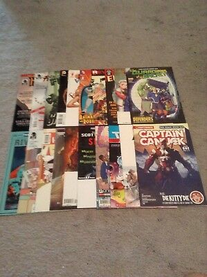 Huge Lot Of 40 Comic Books Fcbd And Others Dc, Marvel, Image Vf-Nm