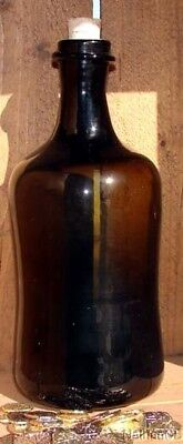 17th Century Handblown  Pirate Caribbean  Rum  Bottle