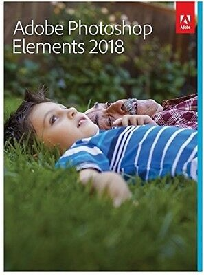 Adobe Photoshop Elements 2018 Mac/Win 2 Computers DOWNLOAD
