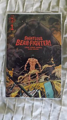 Shirtless Bear Fighter #1 Jesse James Comics Exclusive Cover Ltd 500 Nm