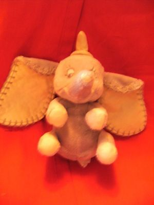 "Walt Disney ""  dumbo ""  cuddly soft  toy 7"""