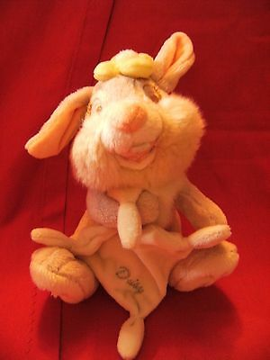 "Walt Disney ""  daisy ""  bunny cuddly soft  toy 7"""