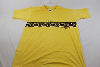 Rajasthan India yellow XXL t shirt