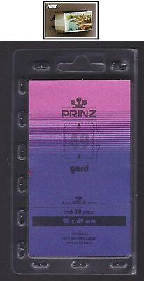 PRINZ Mounts GARD [Back opening] Black Cut-To-Size 96 x 49 x 10