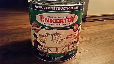Ultra Tinkertoy Construction Set 246/250 pieces, plus over 100 extra pieces