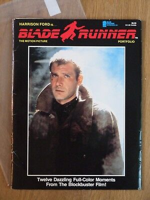 Blade Runner The Motion Picture Portfolio Harrison Ford Rutger Hauer lobby cards