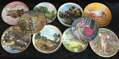 ROYAL DOULTON And Others X 10  Collectors Plates Job Lot