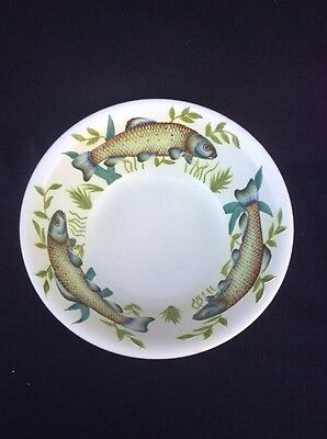 1920's + RADFORD  9 1/4 Inch Serving Bowl WITH A FISH  Design